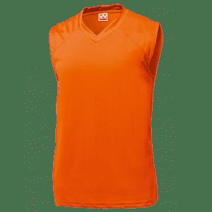 激安クラスティーシャツベーシックバスケットシャツ オレンジ画像1