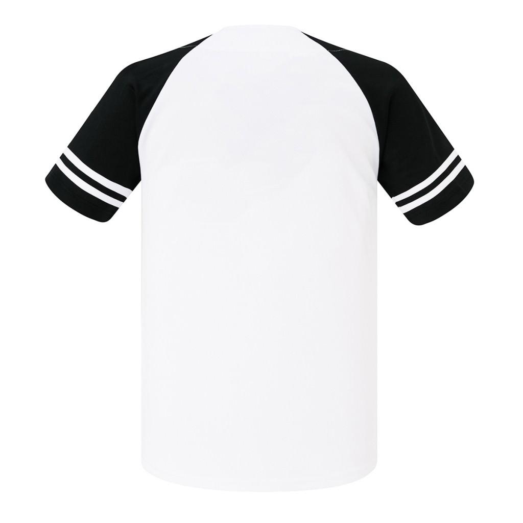 激安クラスティーシャツ野球ユニフォーム(ホワイト×ブラック)ベースボールシャツ画像2