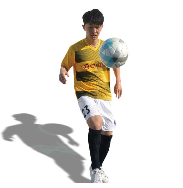 オリジナルサッカーユニフォームの画像