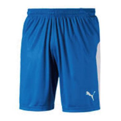 激安クラスティーシャツPUMA ストライプゲームシャツ エレクトリックブルー×ホワイト画像2