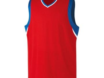 バスケットボールユニフォーム【レッド】FUS-21615