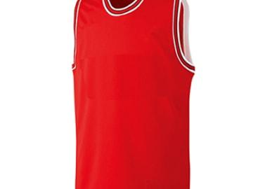 バスケットボールユニフォーム【レッド】FUS-22715