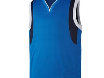 バスケットボールユニフォーム【ブルー】FUS-22731