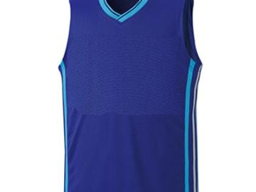 バスケットボールシャツ ブラック×ホワイト