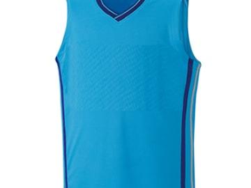 バスケットボールユニフォーム【ブルー】FUS-26674
