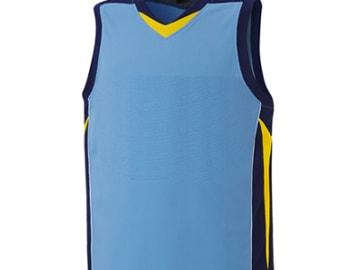 バスケットボールユニフォーム【ブルー】FUS-26686