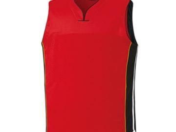バスケットボールユニフォーム【レッド】FUS-26695