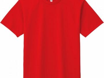 ドライTシャツ レッド