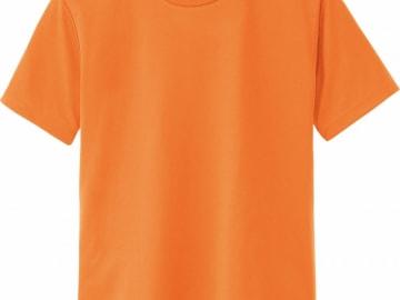 ドライTシャツ オレンジ