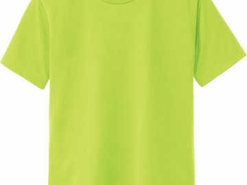 ドライTシャツ ライトグリーン