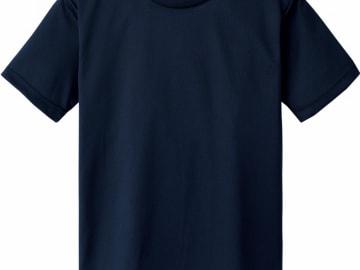 ドライTシャツ ネイビー