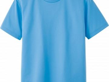 ドライTシャツ サックス