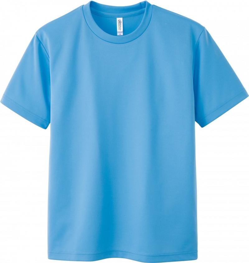 激安クラスティーシャツドライTシャツ サックス画像1