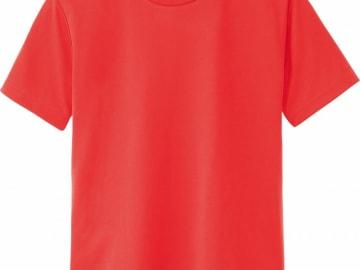 ドライTシャツ 蛍光オレンジ