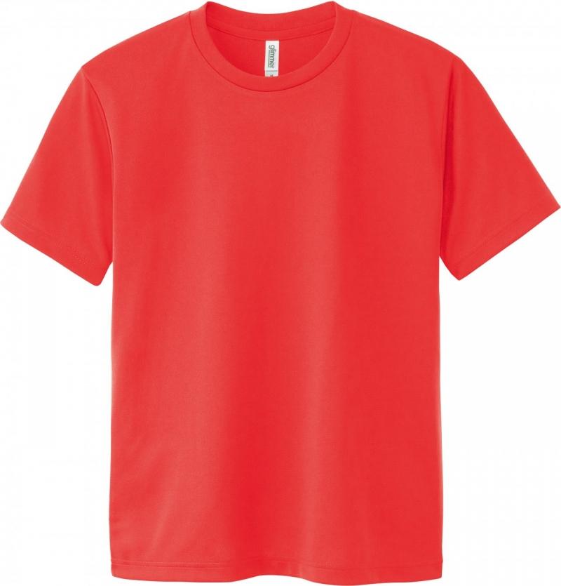 激安クラスティーシャツドライTシャツ 蛍光オレンジ画像1