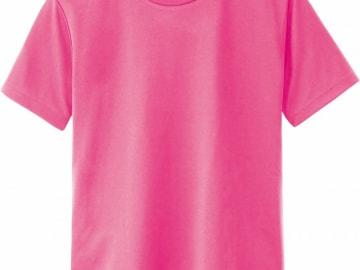 ドライTシャツ 蛍光ピンク