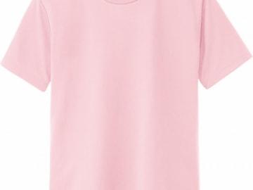 ドライTシャツ ライトピンク