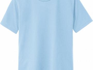 ドライTシャツ ライトブルー