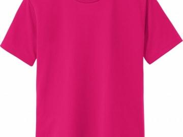 ドライTシャツ ホットピンク