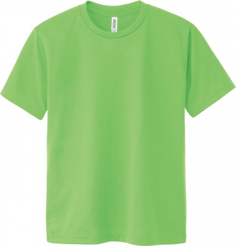 激安クラスティーシャツドライTシャツ ライム画像1