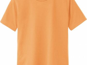 ドライTシャツ ライトオレンジ
