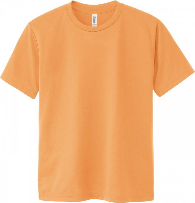 激安クラスティーシャツドライTシャツ ライトオレンジ画像1