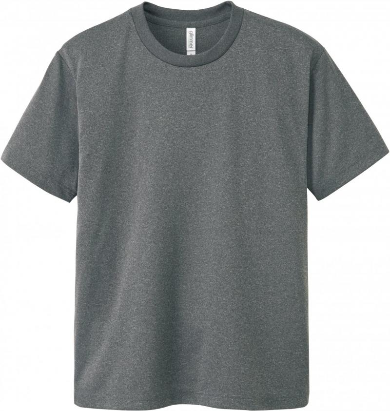 激安クラスティーシャツドライTシャツ ミックスグレー画像1