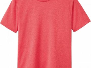 ドライTシャツ ミックスレッド