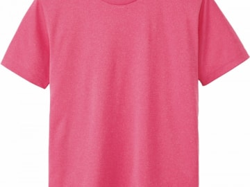 ドライTシャツ ミックスピンク
