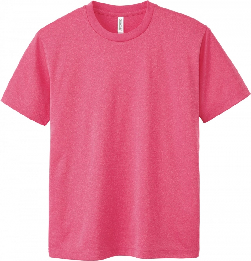 激安クラスティーシャツドライTシャツ ミックスピンク画像1