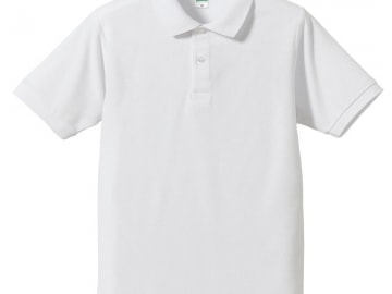 ドライカノコ ポロシャツ ホワイト