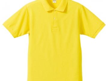ドライカノコ ポロシャツ イエロー