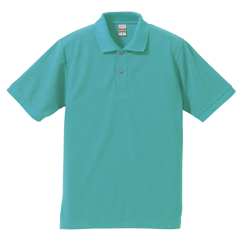激安クラスティーシャツドライカノコ ポロシャツ ミントグリーン画像1