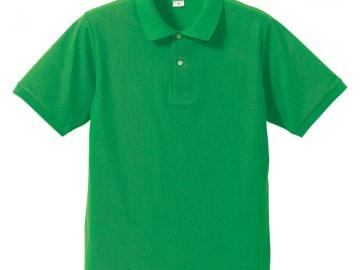 ドライカノコ ポロシャツ ブライトグリーン