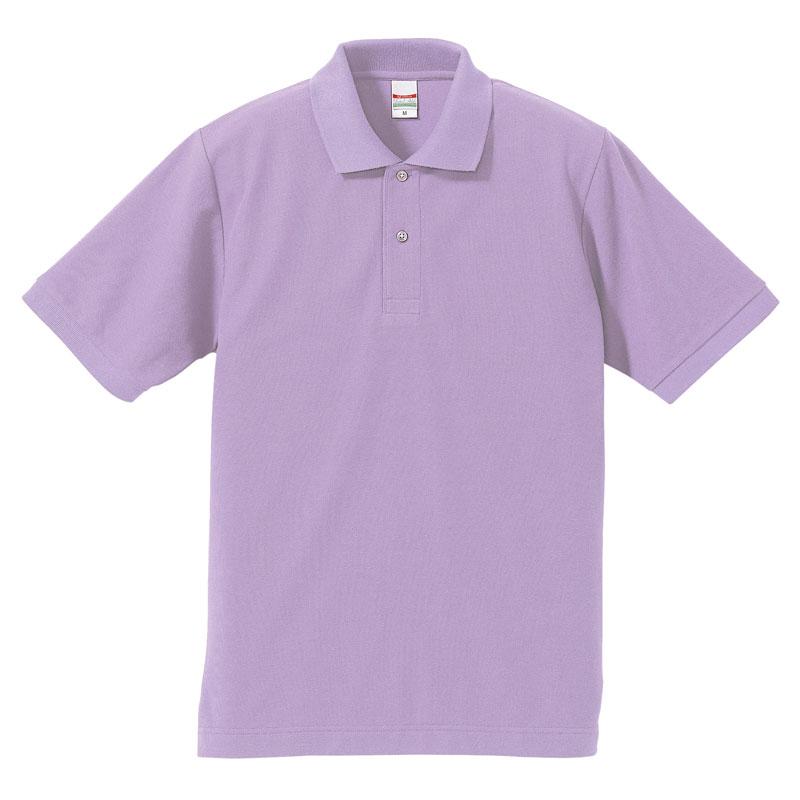 激安クラスティーシャツドライカノコ ポロシャツ ライラック画像1
