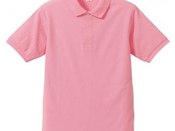 ドライカノコ ポロシャツ ピンク