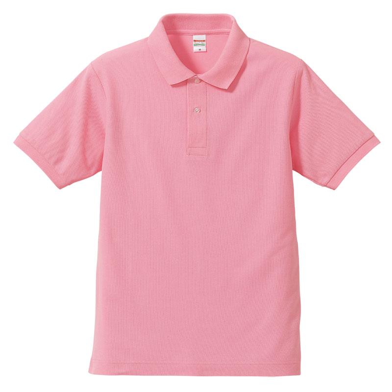 激安クラスティーシャツドライカノコ ポロシャツ ピンク画像1