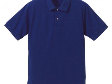 ドライカノコ ポロシャツ コバルトブルー
