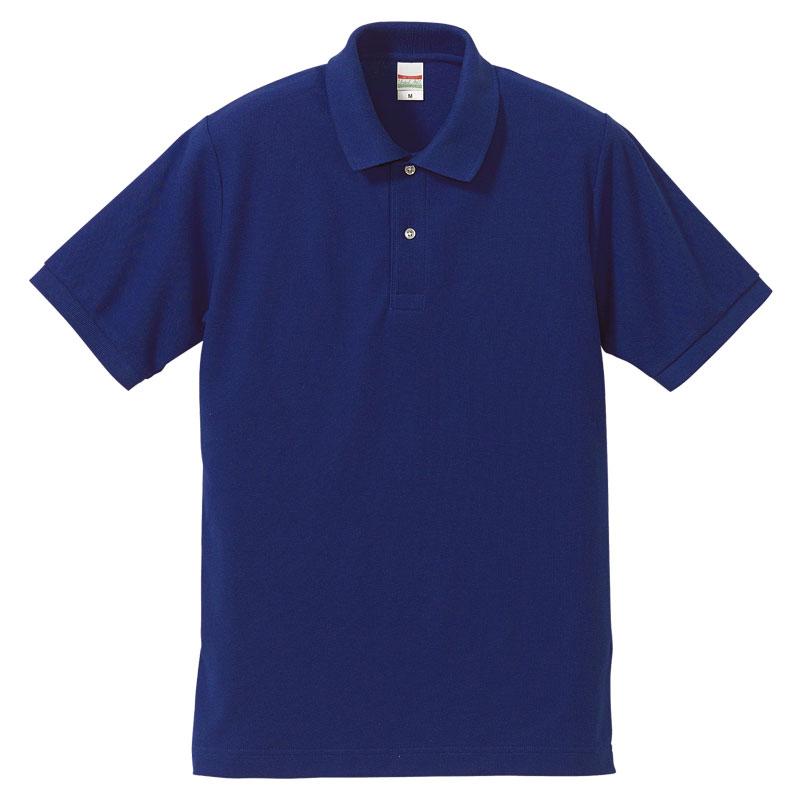 激安クラスティーシャツドライカノコ ポロシャツ コバルトブルー画像1