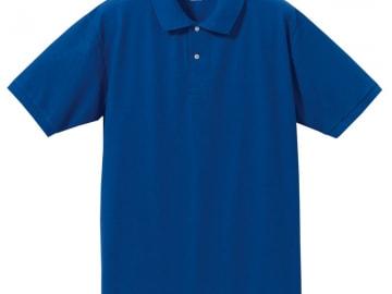 ドライカノコ ポロシャツ ロイヤルブルー