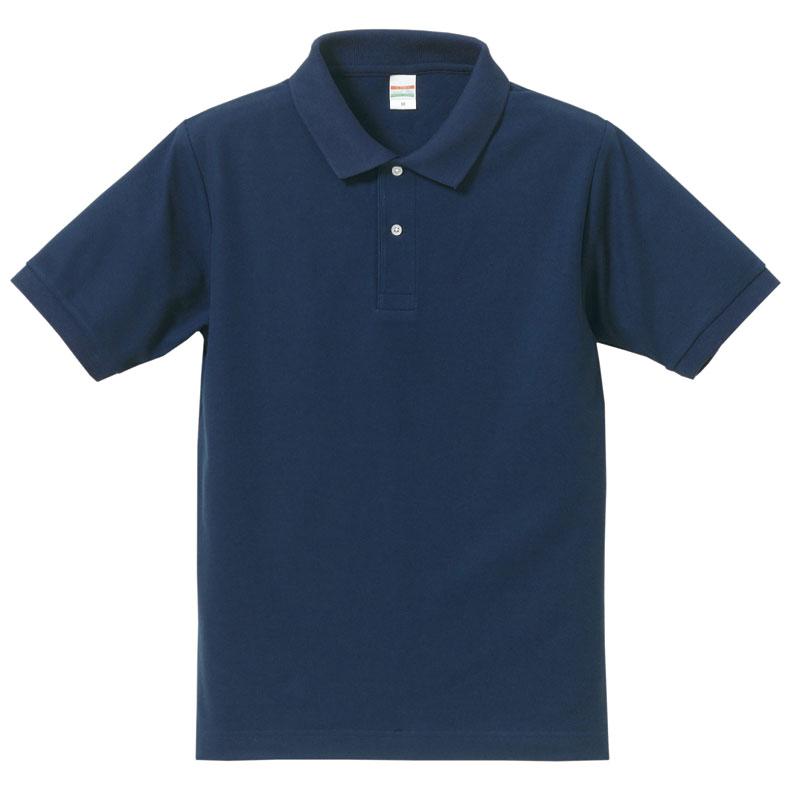 激安クラスティーシャツドライカノコ ポロシャツ インディゴ画像1