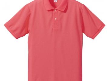 ドライカノコ ポロシャツ フラミンゴピンク