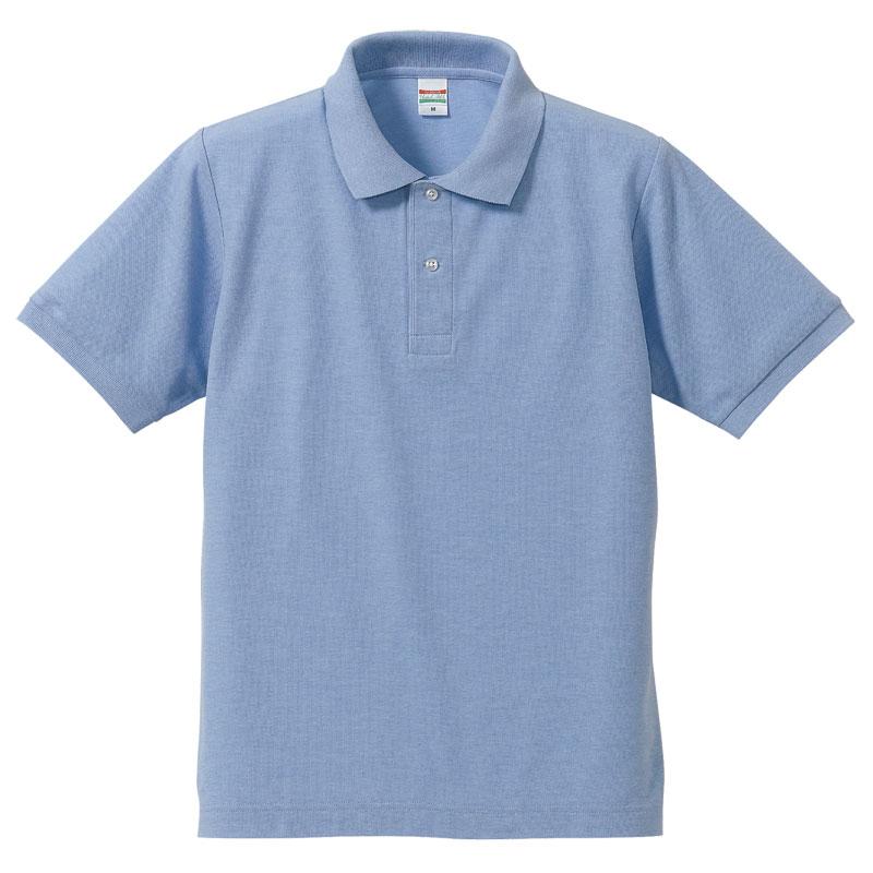 激安クラスティーシャツドライカノコ ポロシャツ OXブルー画像1