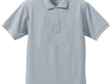 ドライカノコ ポロシャツ OXグレー