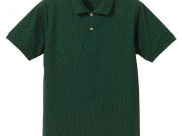 ドライカノコ ポロシャツ ダークグリーン