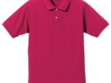 ドライカノコ ポロシャツ トロピカルピンク
