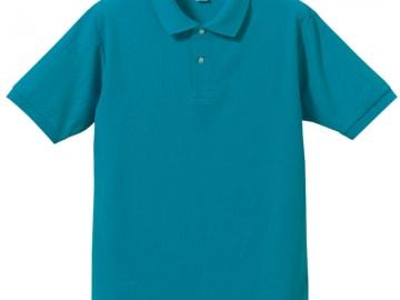 ドライカノコ ポロシャツ ターコイズ