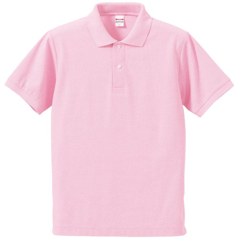 激安クラスティーシャツドライカノコ ポロシャツ OXピンク画像1