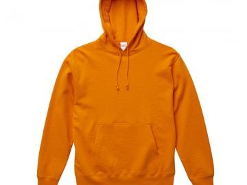 スウェットプルオーバーパーカー オレンジ
