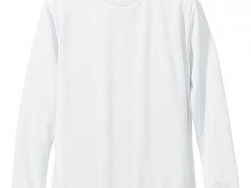 ドライTシャツ ミックスパープル